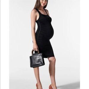 NWT Blanqi Racerback Maternity Dress